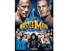 WWE Wrestlemania 29 3 DVDs