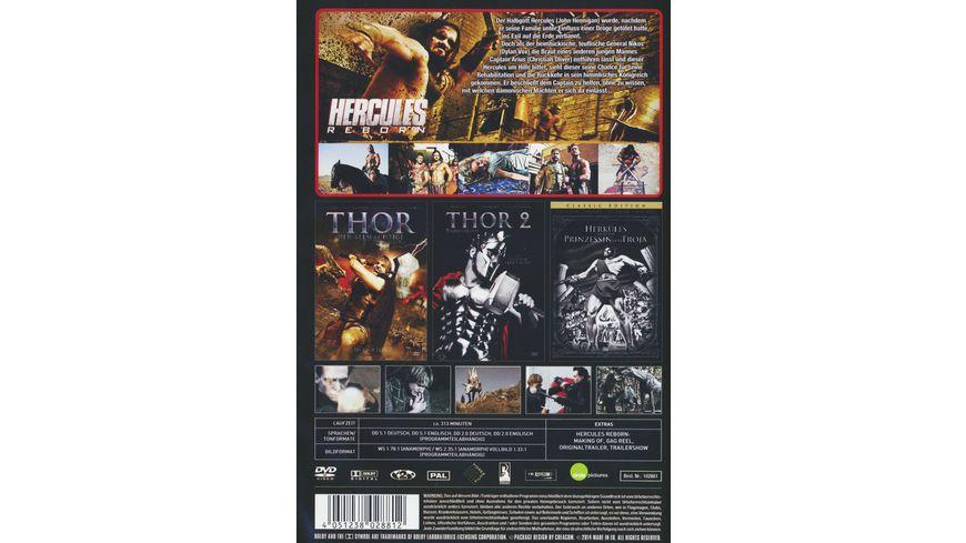 Hercules und Thor Giganten der Geschichte 2 DVDs