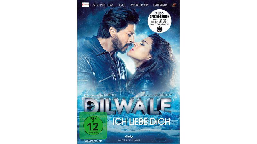Furchtlose Herzen Dilwale SE LE 2 BRs Bonus DVD
