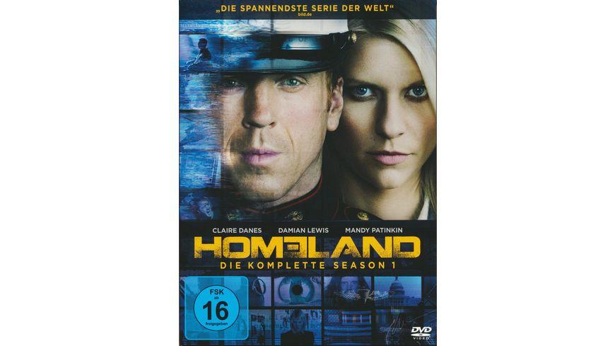 Homeland Season 1 4 DVDs