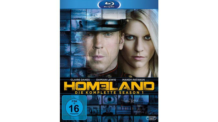 Homeland - Season 1  [3 BRs]