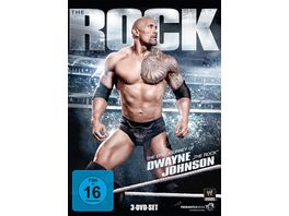 The Rock The Epic Journey of Dwayne The Rock Johnson 3 DVDs
