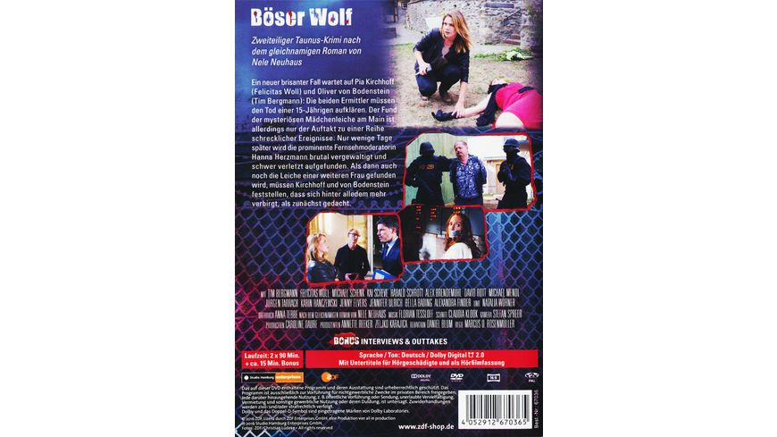 Boeser Wolf