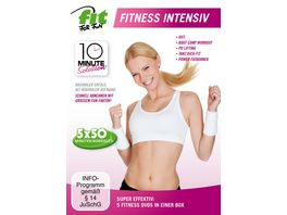 Fit for Fun 10 Minute Solution Fitness Intensiv 5 DVDs