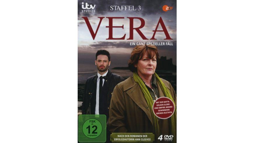 Vera Ein ganz spezieller Fall Staffel 3 4 DVDs