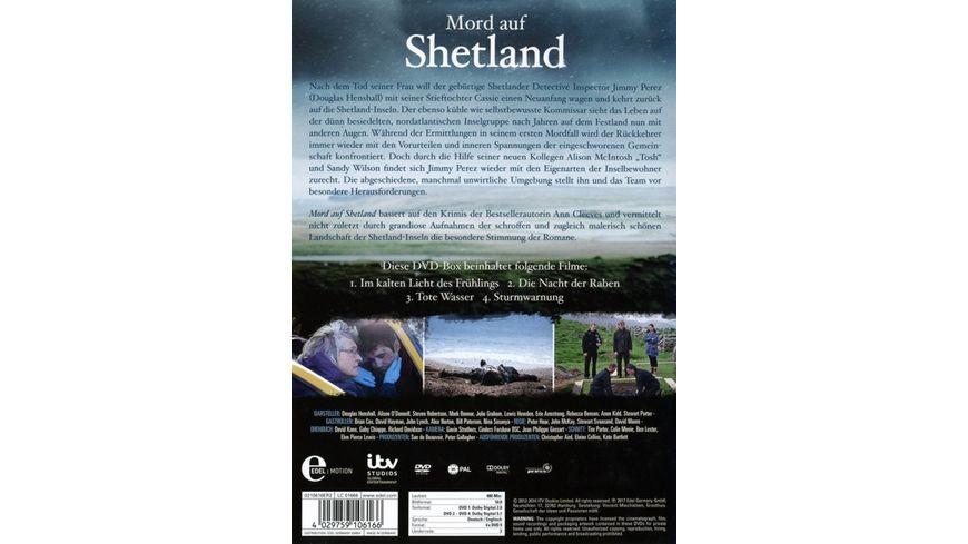 Mord auf Shetland Staffel 1 4 DVDs