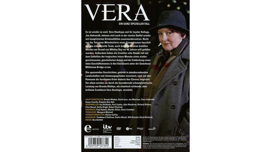 Vera Ein ganz spezieller Fall Staffel 4 4 DVDs