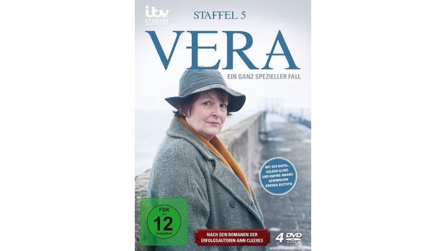 Vera Ein ganz spezieller Fall Staffel 5 4 DVDs