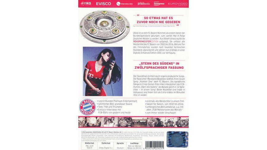 FC Bayern Muenchen Rekordmeister Edition Alle Titel von 1932 bis 2016 2 DVDs
