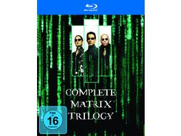 Matrix The Complete Trilogy 3 BRs