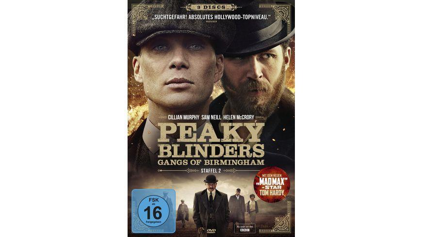 Peaky Blinders Gangs of Birmingham Staffel 2 3 DVDs