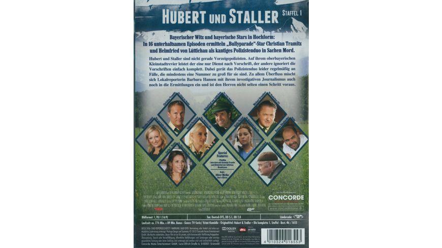 Hubert und Staller Die komplette 1 Staffel 6 DVDs