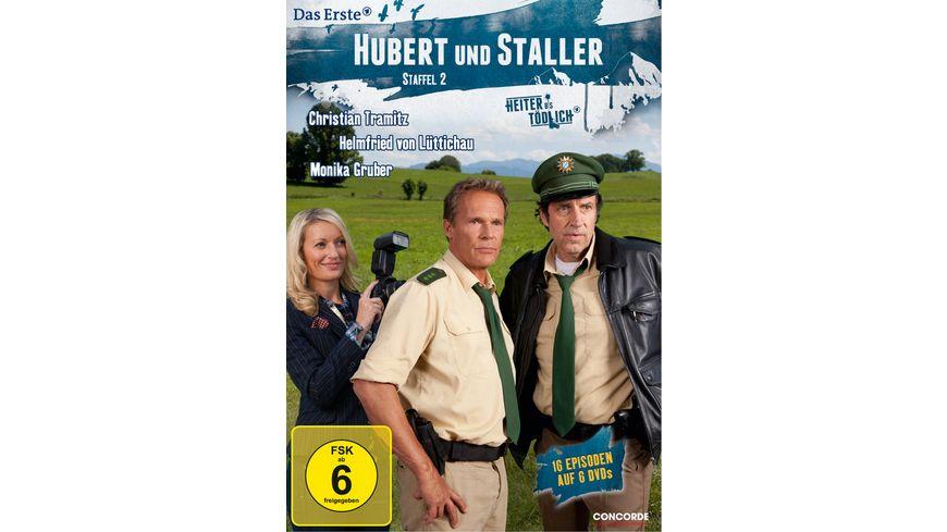 Hubert und Staller Die komplette 2 Staffel 6 DVDs