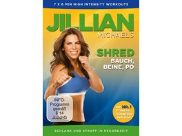 Jillian Michaels Shred Bauch Beine Po