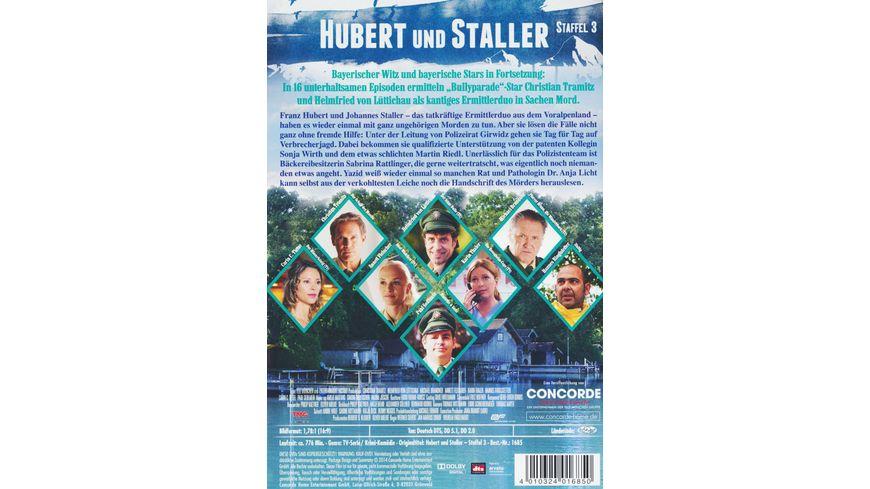 Hubert und Staller Die komplette 3 Staffel 6 DVDs