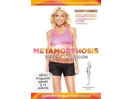 Tracy Anderson Metamorphosis Koerpertyp Bauchzentrisch 4 DVDs inkl Buch Massband