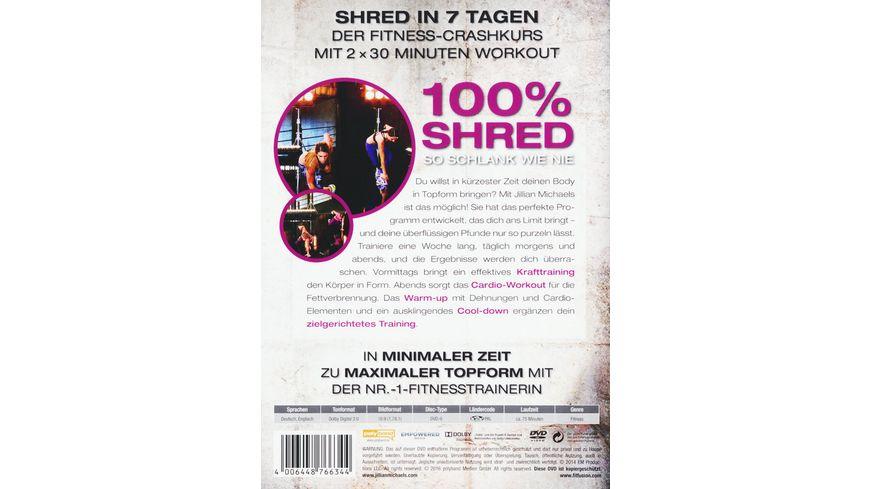 Jillian Michaels 100 Shred So schlank wie nie