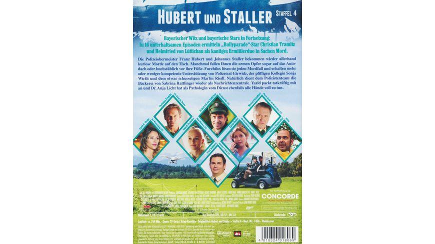 Hubert und Staller Die komplette 4 Staffel 6 DVDs