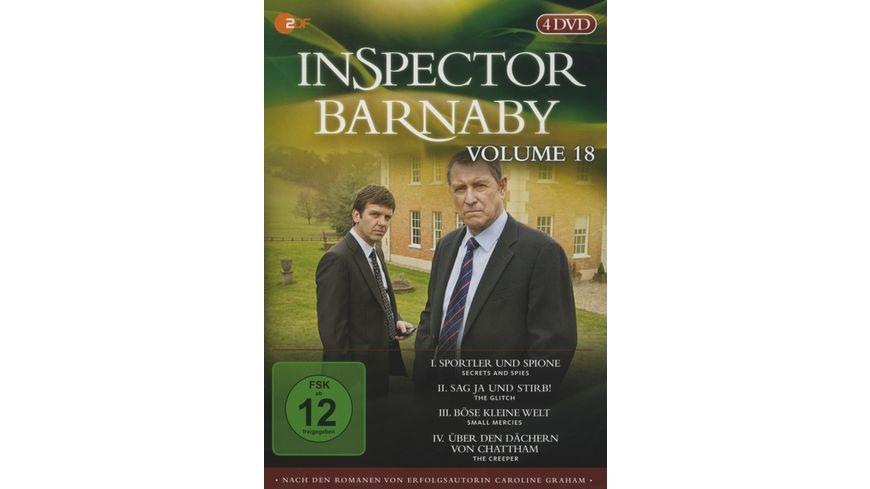 Inspector Barnaby Vol 18 4 DVDs