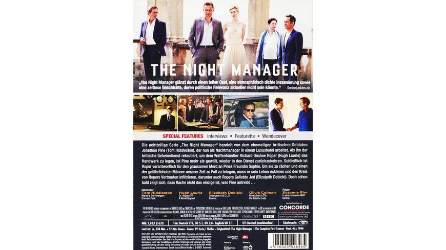 The Night Manager Die komplette 1 Staffel 3 DVDs