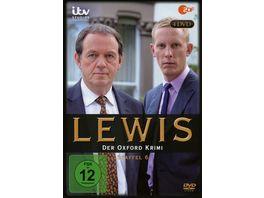 Lewis Der Oxford Krimi Staffel 6 4 DVDs