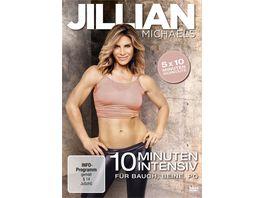 Jillian Michaels 10 Minuten Intensiv fuer Bauch Beine Po