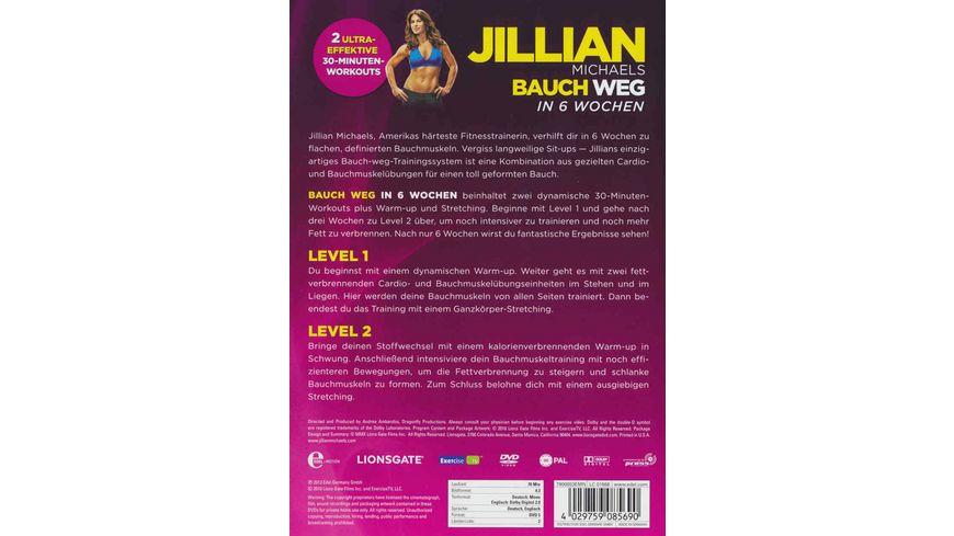 Jillian Michaels Bauch weg in 6 Wochen