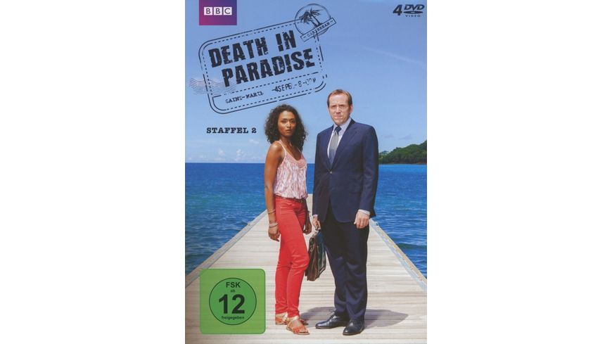 Death in Paradise Staffel 2 4 DVDs