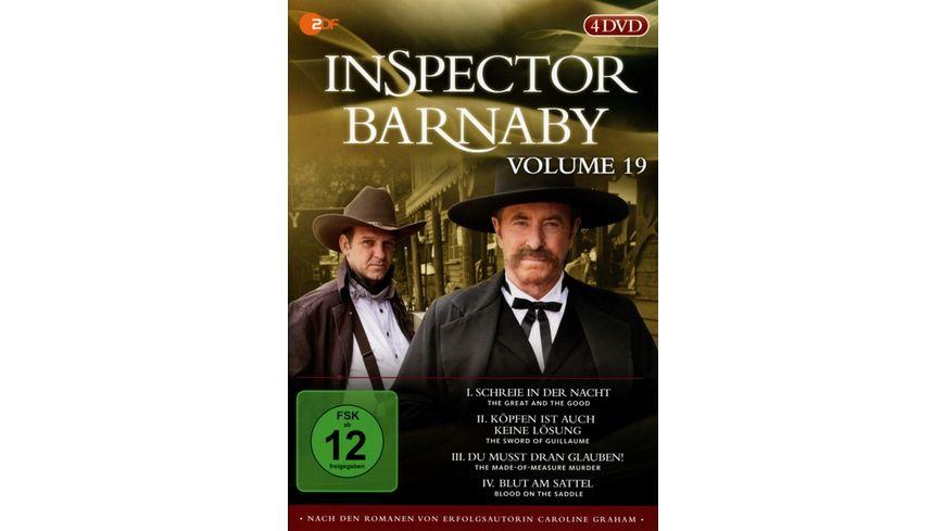 Inspector Barnaby Vol 19 4 DVDs