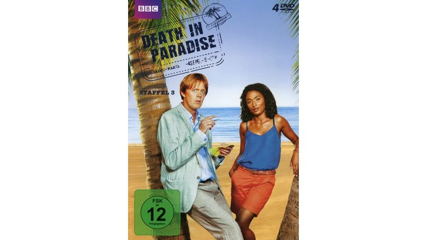 Death in Paradise Staffel 3 4 DVDs