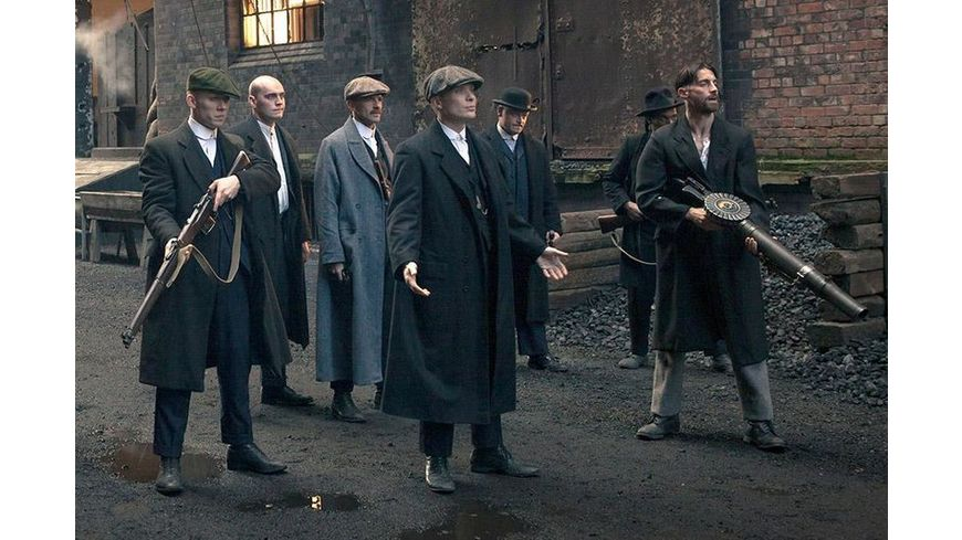 Peaky Blinders Gangs of Birmingham Staffel 1 3 DVDs
