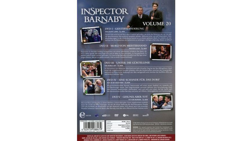 Inspector Barnaby Vol 20 5 DVDs