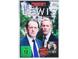 Lewis Der Oxford Krimi Staffel 4 6 Collector s Box 2 13 DVDs