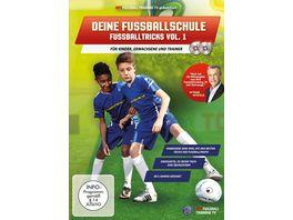 Deine Fussballschule Fussballtricks Vol 1 2 DVDs