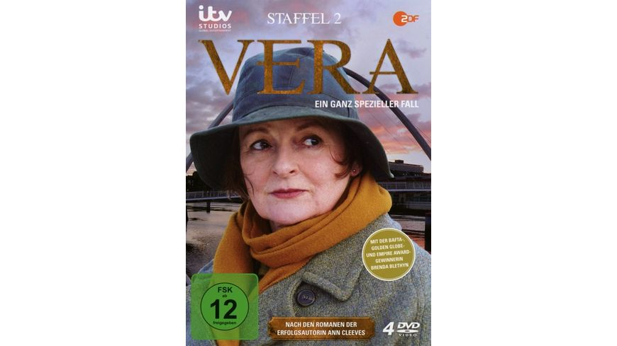 Vera Ein ganz spezieller Fall Staffel 2 4 DVDs