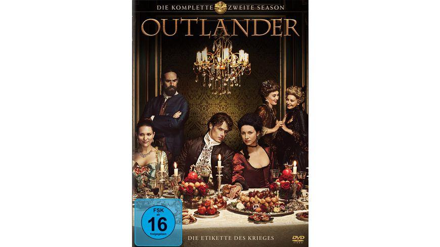 Outlander Die komplette zweite Season 6 DVDs