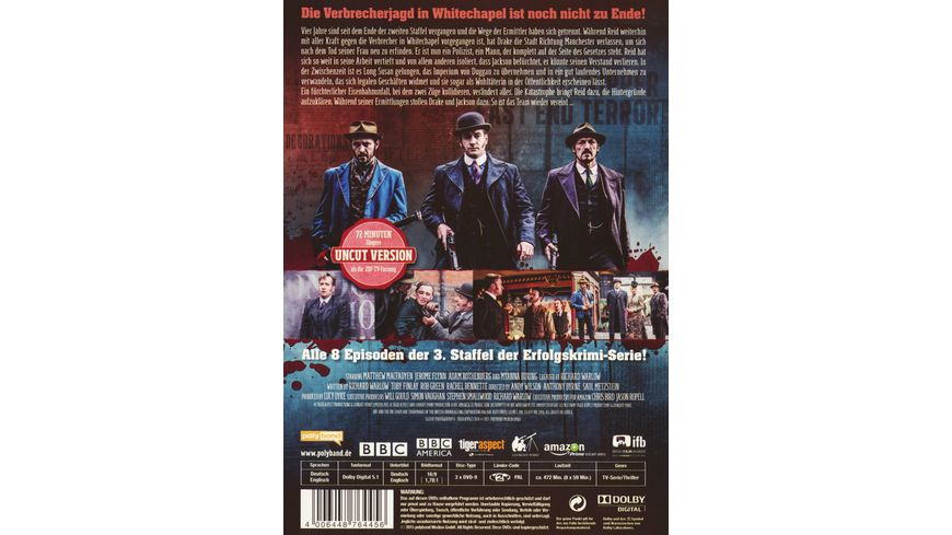 Ripper Street Staffel 3 Uncut Version 3 DVDs