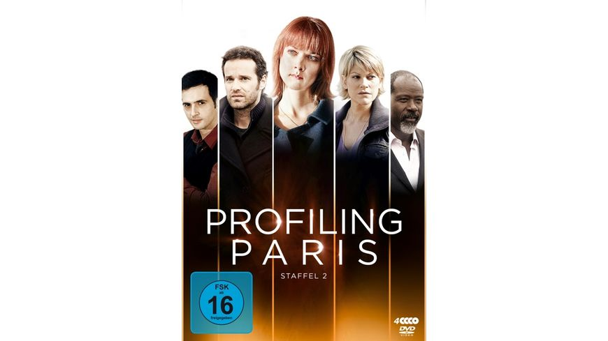 Profiling Paris Staffel 2 4 DVDs