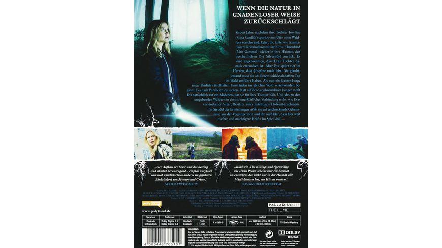 Jordskott Die Rache des Waldes Staffel 1 4 DVDs