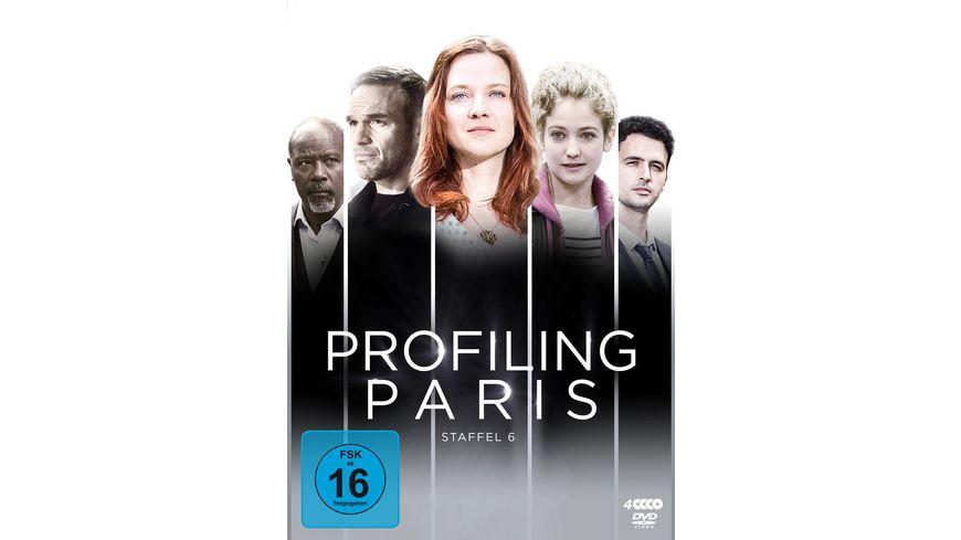 Profiling Paris Staffel 6 4 DVDs