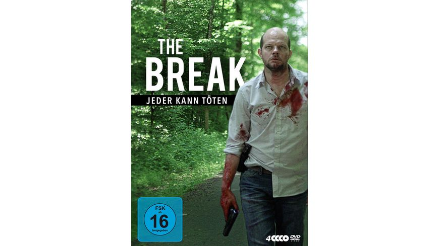 The Break Jeder kann toeten 4 DVDs