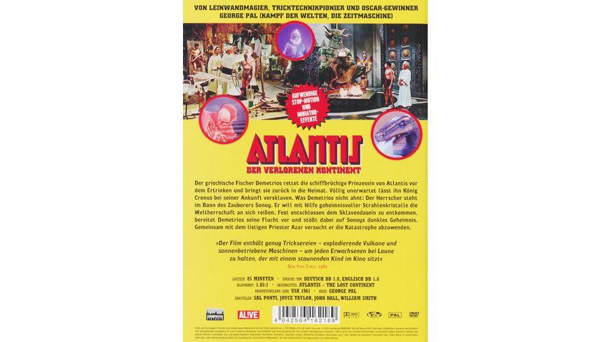 Atlantis Der verlorene Kontinent
