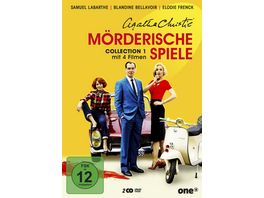Agatha Christie Moerderische Spiele Collection 1 2 DVDs