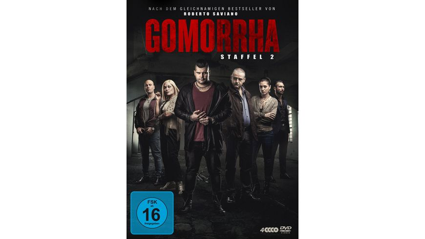 Gomorrha Staffel 2 4 DVDs