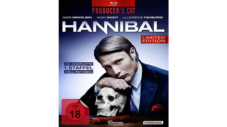 Hannibal Staffel 1 Producer s Cut 3 BRs LE