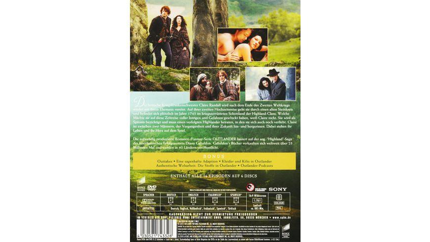 Outlander Die komplette erste Season 6 DVDs
