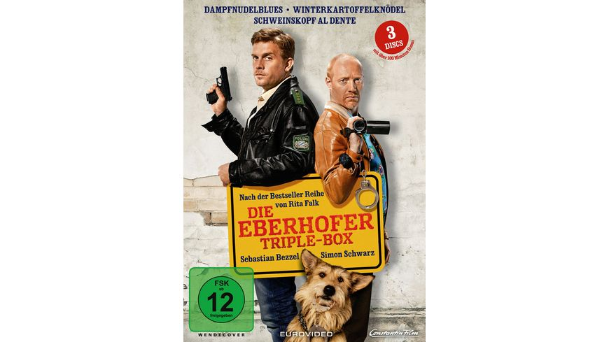 Die Eberhofer Triple Box 3 DVDs