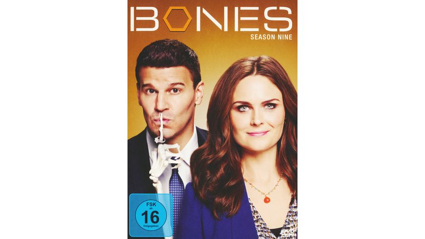 Bones Season 9 6 DVDs