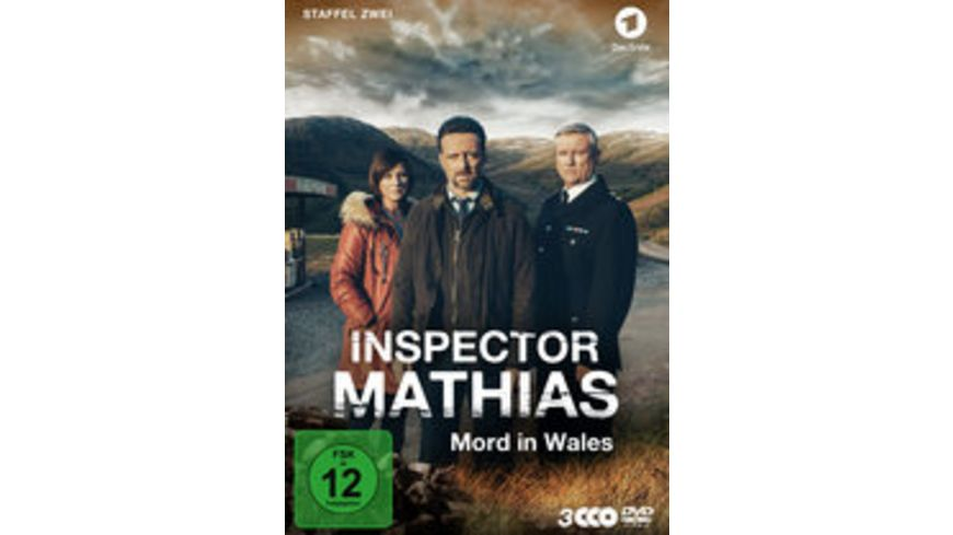 Inspector Mathias Mord in Wales Staffel 2 3 DVDs