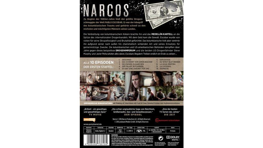 Narcos Staffel 1 4 DVDs